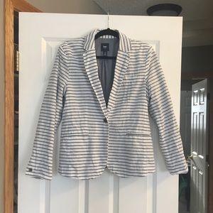 Gap striped blazer
